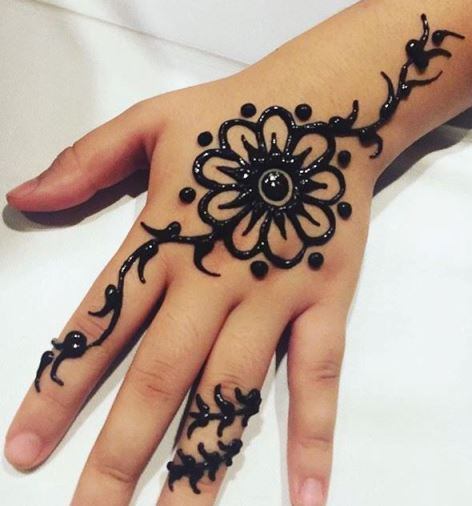 400 Gambar Henna Mudah Dibuat Hd Terbaru Infobaru