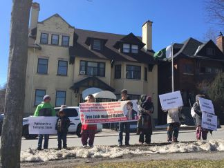 BSO-A Ottawa demo Pak embassy 2