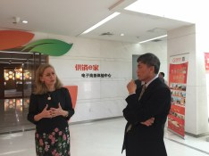 With Li Chunsheng at China E Coop