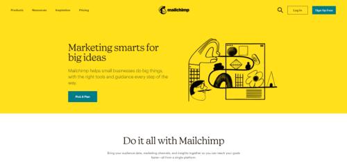 Marketing Tools: Mail Chimp