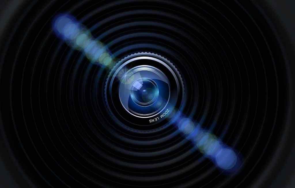 lens, optics, camera