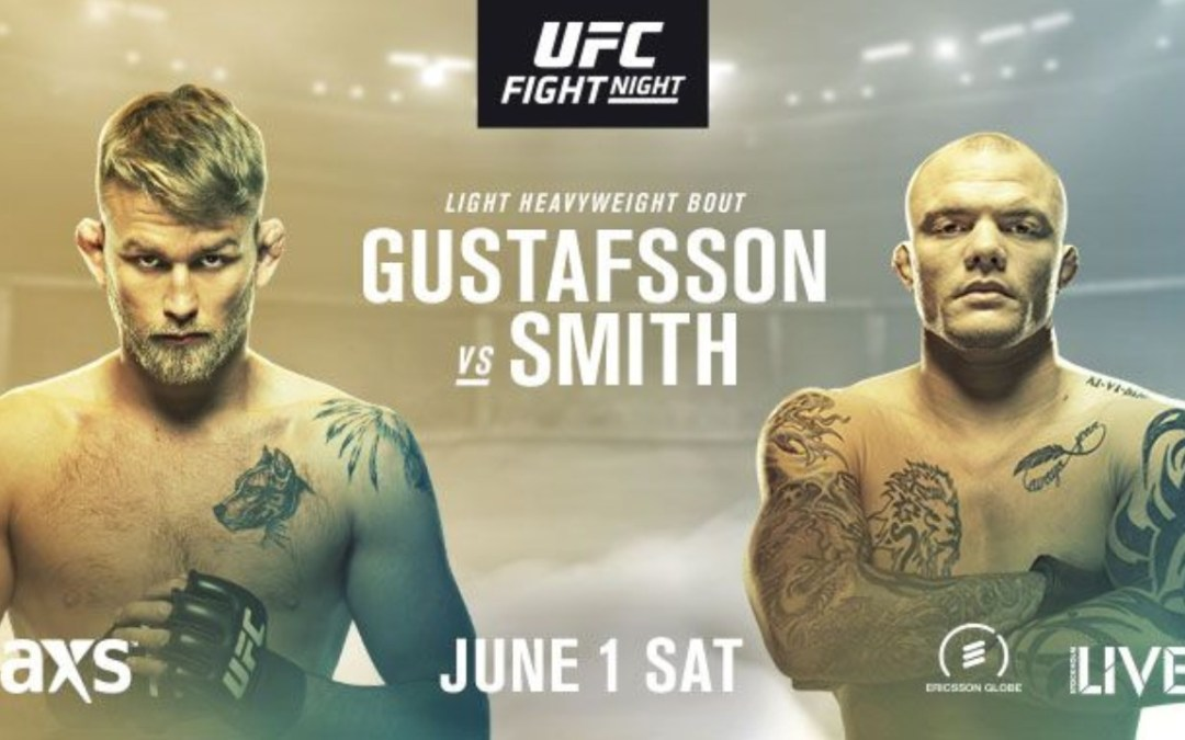 "Watch ""UFC Stockholm: Smith and Gustafsson Octagon Interview"" on Bamabjj.com – great win!"