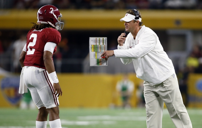 Image result for lane kiffin and jalen hurts