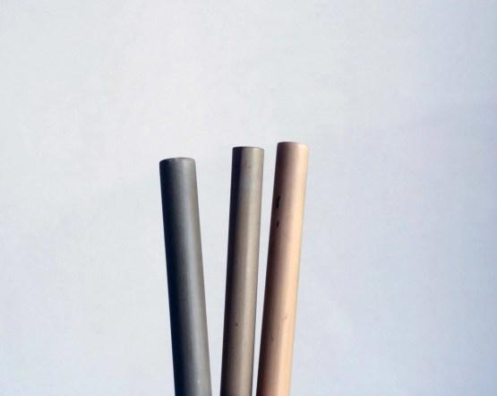 trois pailles en bambou