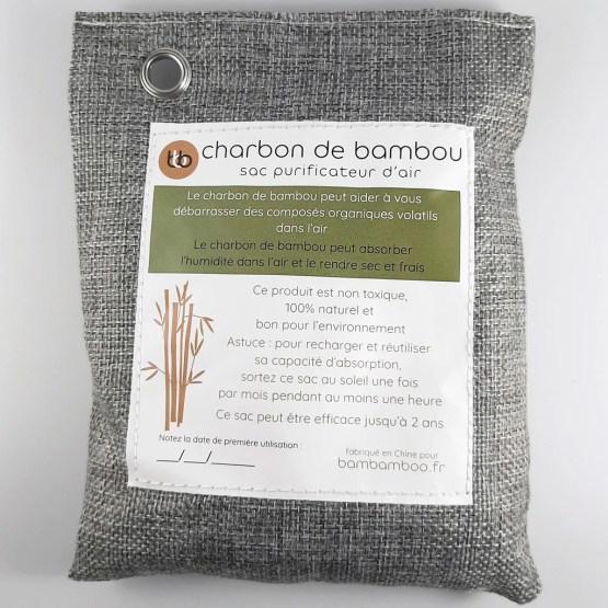 desodorisant charbon de bambou actif