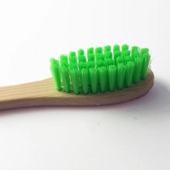 brosse à dents couleur verte
