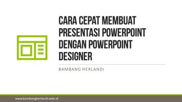 Cara Cepat Membuat Presentasi PowerPoint dengan PowerPoint Designer