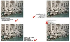 Gambar: Hindari menempatkan keterangan gambar di atas gambar.