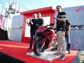 Launching varian baru New Honda CBR250RR