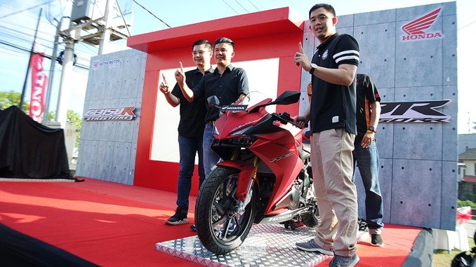 Launching varian baru New Honda CBR250RR