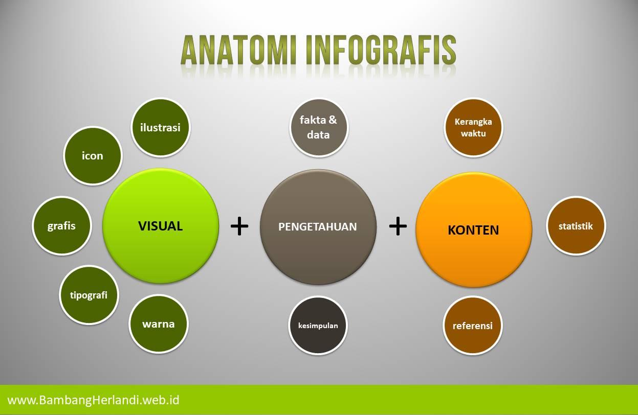 Anatomi infografis