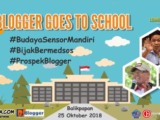 balikpapan blogger goes to school 2018