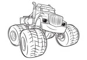 11 monster machine coloring pages blaze