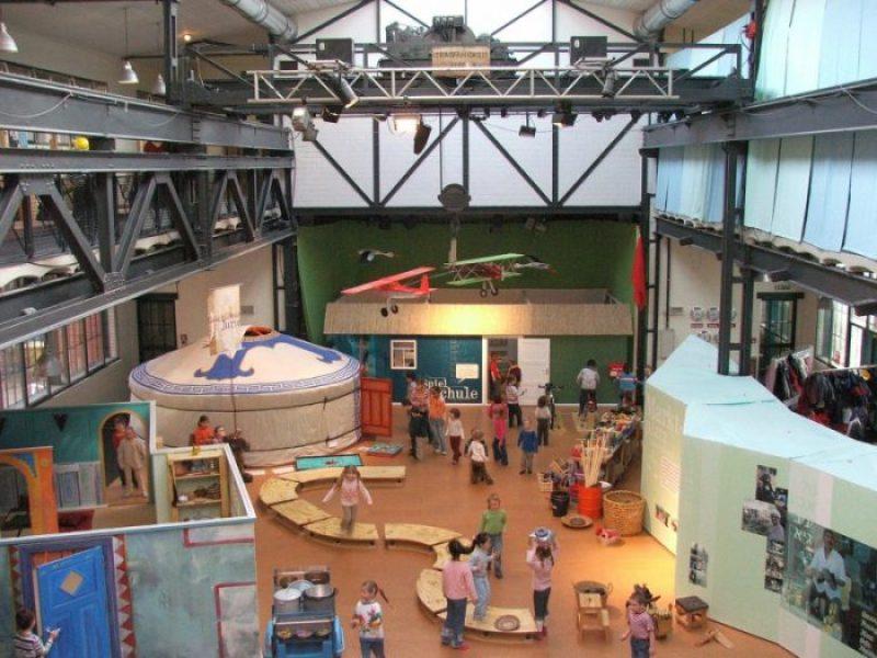 amburgo, museo klik per bambini