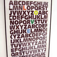 ABC Love Art Print