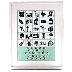 Alphabet A3 Print by Famille Summerbelle