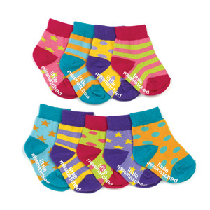 Little black socks (from….sshhh!) Baby K at Mothercare