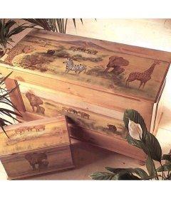 Traditonal Toy Box