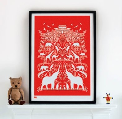 Reader Tip Off: Bold & Noble Screen Prints