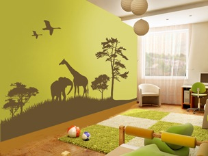 Actedeco Wall Stickers