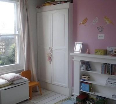 Nursery Tour: Liberty's Peony Room