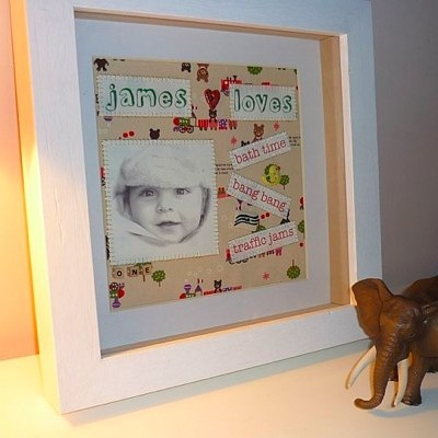'I Love' Personalised Artwork by Ella Loves