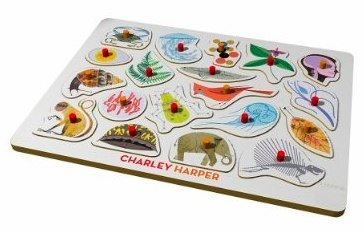 Charley Harper's Peg Puzzle