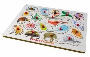 Charley Harper's Peg Puzzle