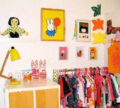 Nursery Tour: Polly's Vibrant Retro Room