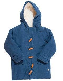Great Autumn Winter Coat Hunt: Frugi's Organic Cord Duffle Coat