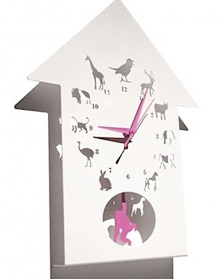Animalask Clock by Westergaard Designs