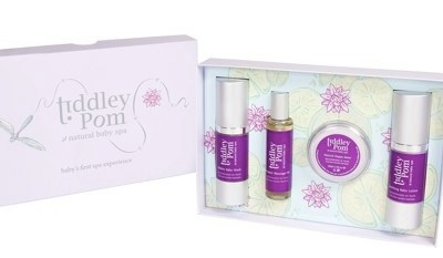 Up For Grabs: 5 Tiddley Pom Baby's First Spa Experience Gift Sets worth £30 each