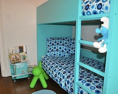 Room Tour: Innes' Modern Blue Bedroom