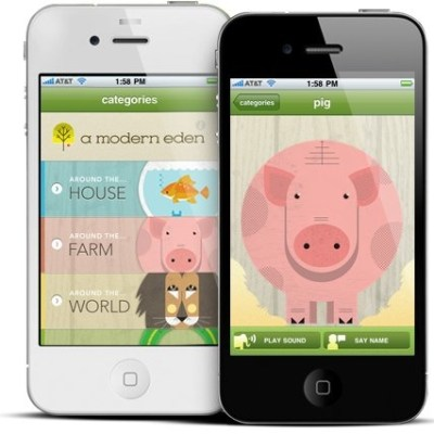 Cool iPhone App's for Toddlers: Speak, Piggy!