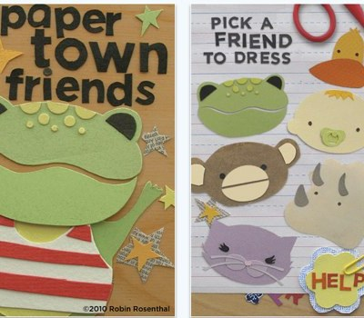 Cool iPhone Apps for Toddlers: Paper Town Friends