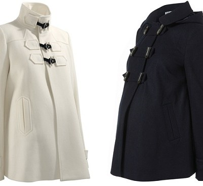 Great Autumn Winter Coat Hunt '10: Maternity Military Duffles