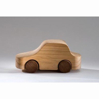 To Be Us wooden car