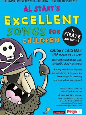 Book now: Al Start's Excellent (Pirate) Songs for Children
