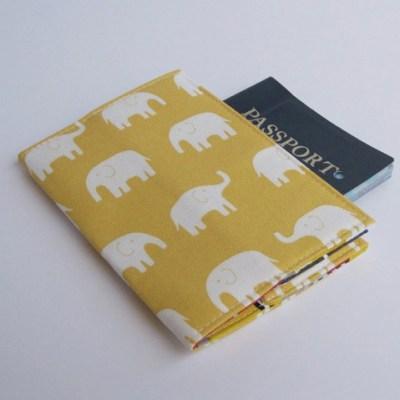Mini Elephant Passport Covers