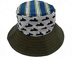 Reversible Sun Hats for Kids by LocoLili