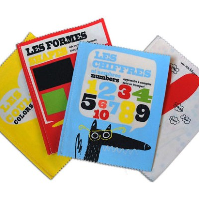 Shapes, colours and numbers fabric books