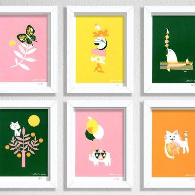 Albert + Marie prints