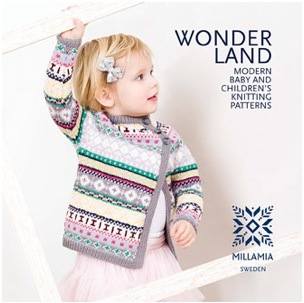 Wonderland – New contemporary baby & children's knitting pattern book by MillaMia