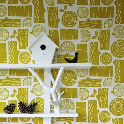 Hotness: New Roddy & Ginger logpile wallpaper