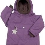 Mini A Ture Wen Purple Winter Pullover Jacket