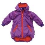 ej sikke lej winter jacket red and purple