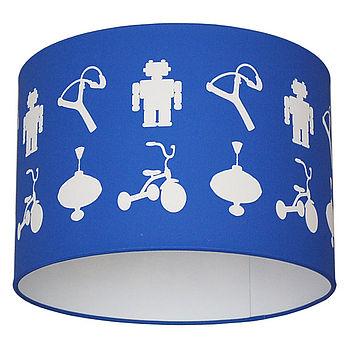 Jennifer vandenBrand Robots & Trikes lampshade