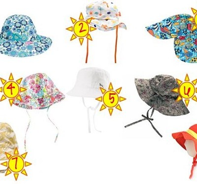 Baby Sun Hats for Spring Summer 2012