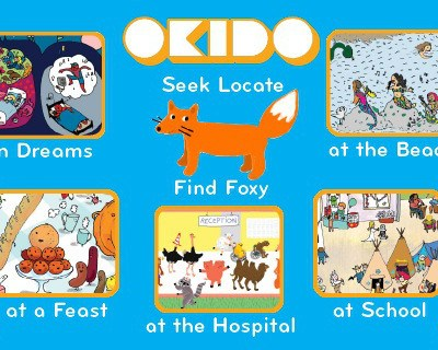 Okido Find Foxy iPhone app