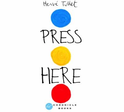 Hervé Tullet Press Here iPad app